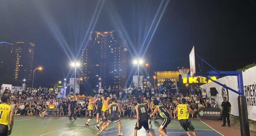 國泰NBA3對3籃球賽 7/4台中惠中籃球場開打