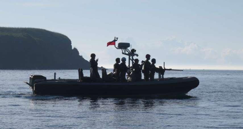 澎湖海域實施50機槍實彈射擊 海龍蛙兵提升快艇作戰應變能力