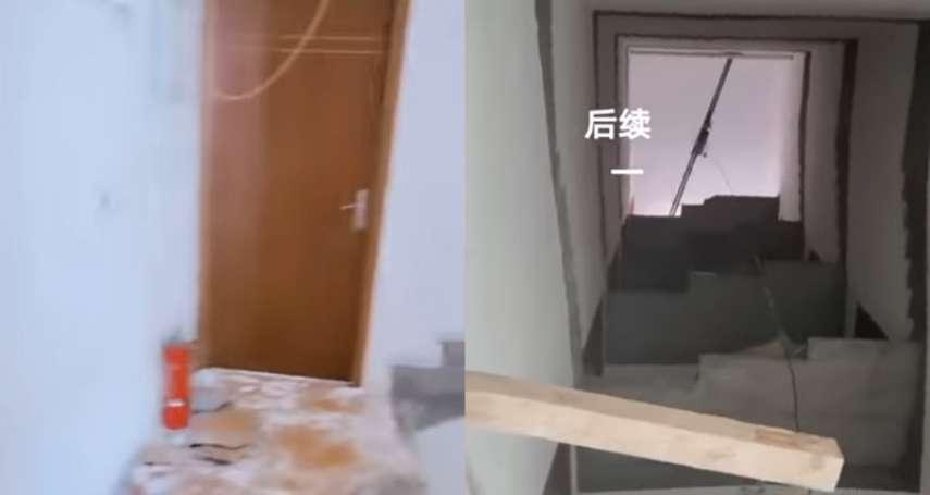 他早上一開門卻驚見樓梯消失了!「差一步就從五樓摔下去」竟是房東惹的禍