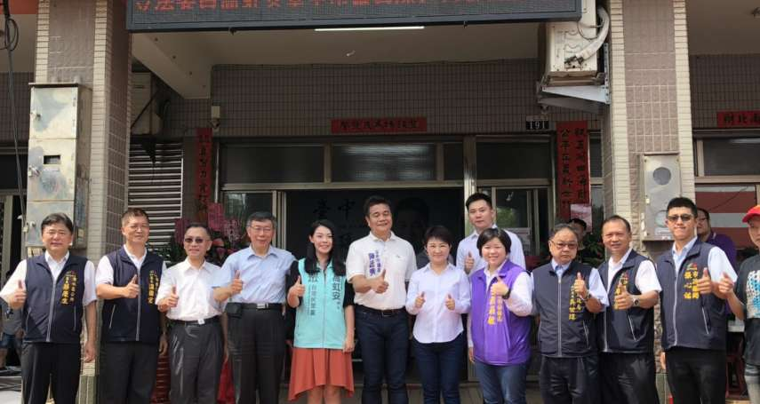 與柯文哲同台 盧秀燕:政治放兩旁,民眾與台灣放優先是我的目標