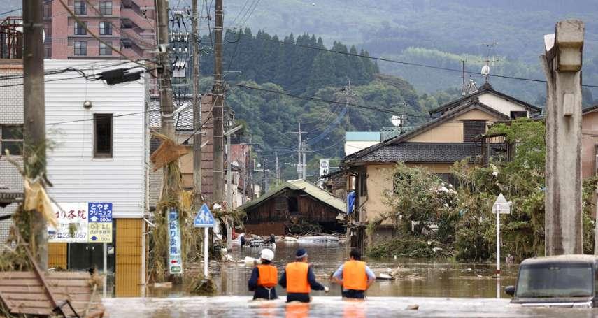 熊本水災》老翁用救命繩纏住愛妻,自己卻遭洪水沖走罹難…遺孀沉痛喊到:「不要走」