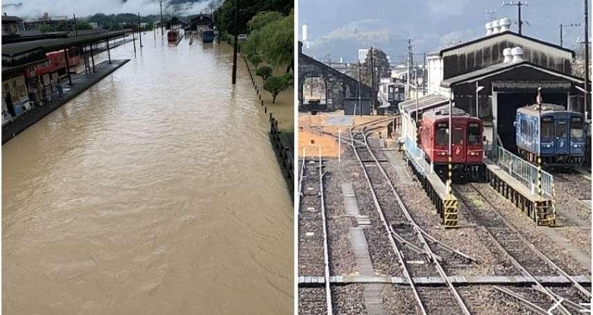 雨彈狂炸日本!九州被迫撤離25萬居民、熊本縣土石崩落釀24死、多人失蹤
