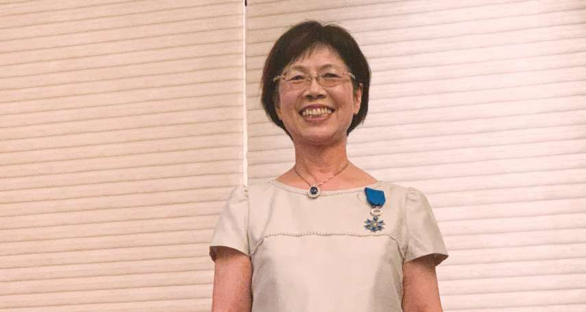 獲頒法國騎士勳章 尤美女驚訝:沒想到外國人對台灣婦女運動這麼清楚