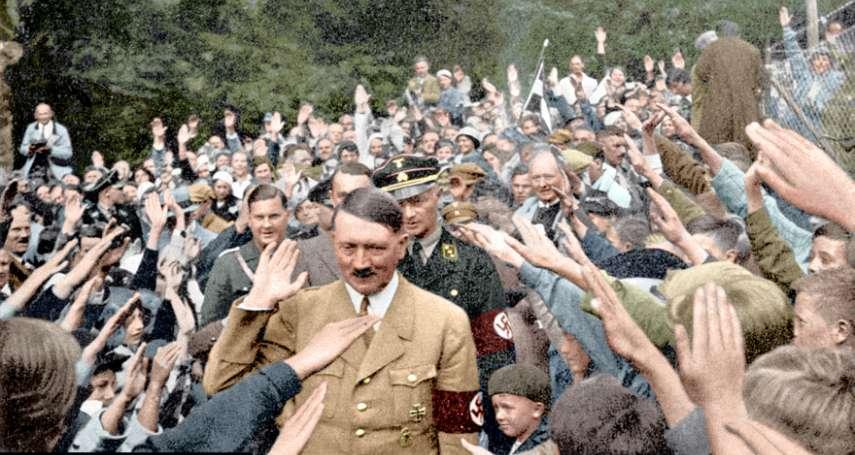 希特勒讓民眾瘋狂崇拜的秘密,究竟是什麼?十張老照片道出每個民主國家都該警惕的事
