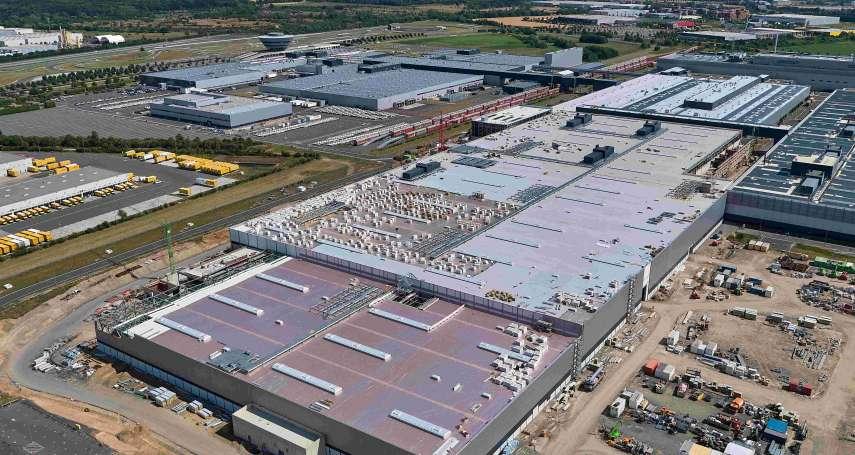 保時捷電動車萊比錫生產基地車體工廠已完工