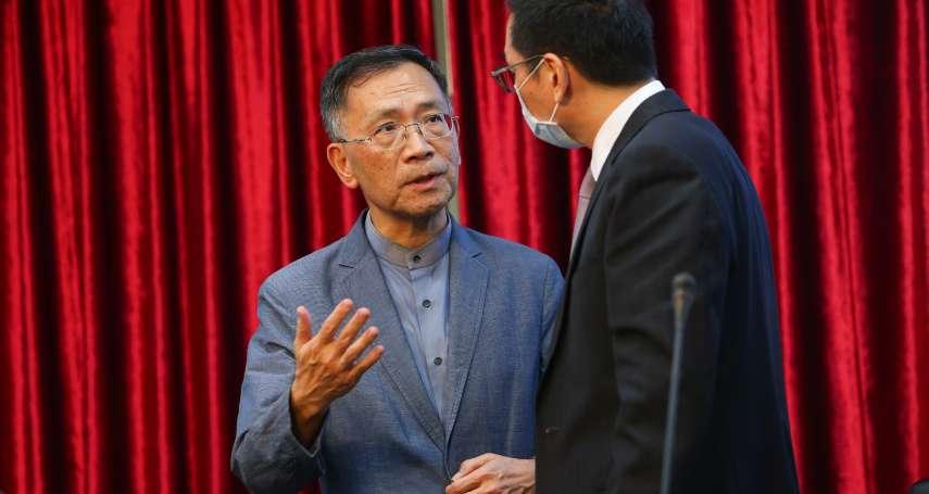 蔡炳坤與府、黨同僚屢傳紛爭 北市府再傳局處不滿他督導「想換黃珊珊」