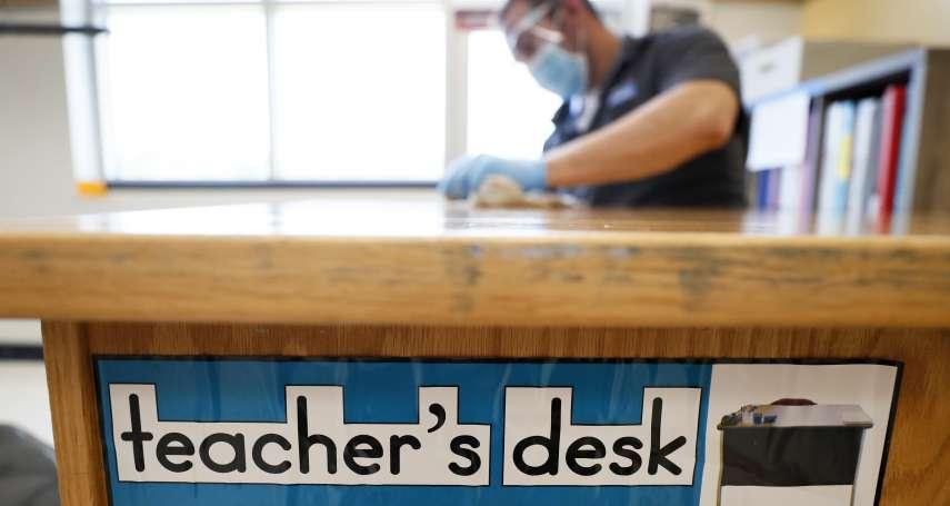 佛州新冠肺炎疫情慘重,州長竟頒緊急命令強迫開學!教師工會提告:罔顧學生與教職員安全