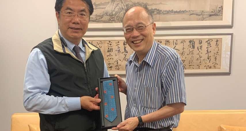 黃偉哲親訪力邀 吳密察任臺南400年文化展總召
