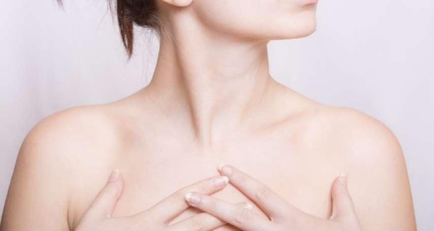 胸部痛痛的,是不是得乳癌的前兆?醫師一篇文破解女性常見迷思:乳癌4大症狀一定要知道