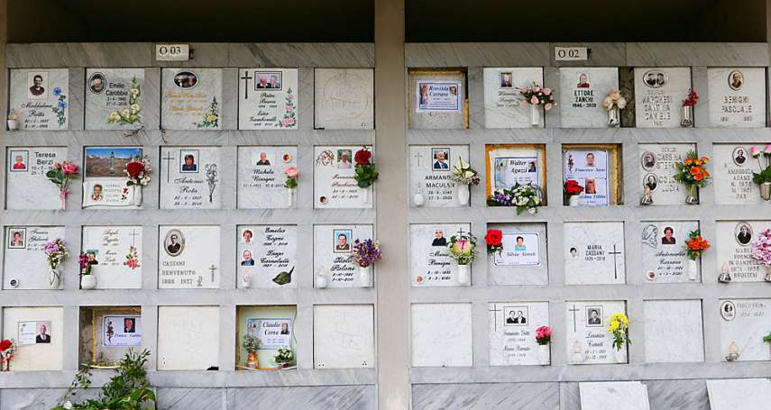 新新聞》染疫親人孤獨死,義大利遺屬狀告政府陳情歐盟