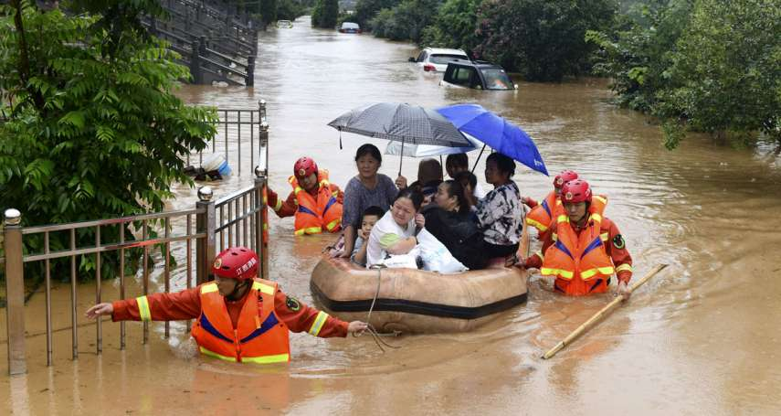 新新聞》中國暴雨不止,長江、黃河、淮河拉警報,27省災情嚴峻