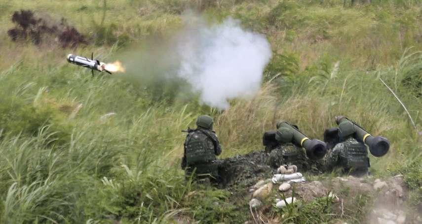 國防部長稱兩岸開戰能召集45萬兵力 退將曝難處:教召報到率才7成