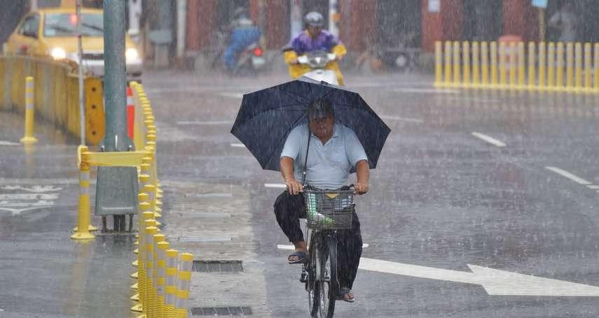 天降甘霖!北部需防較大雨勢 鄭明典:雨區很快會往南