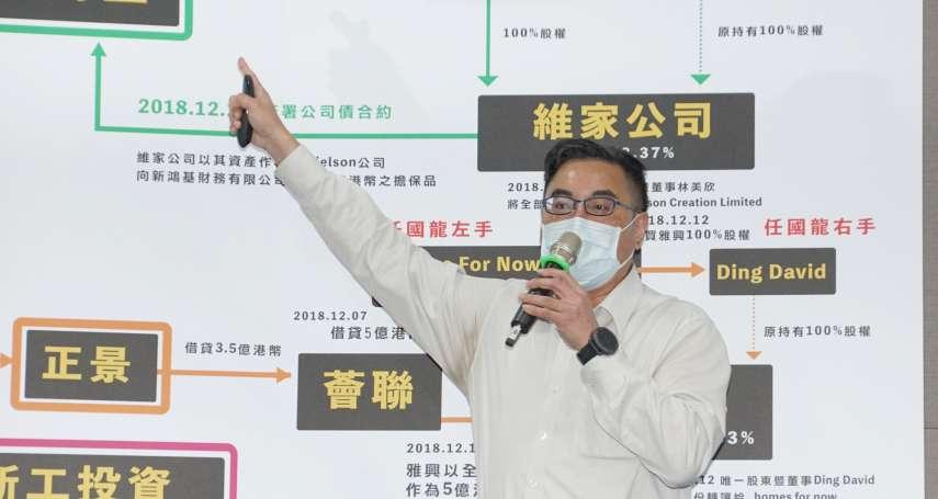批市場派任國龍持股資金來自新鴻基 大同公司派批「違法中資」:與中國國務院關係密切
