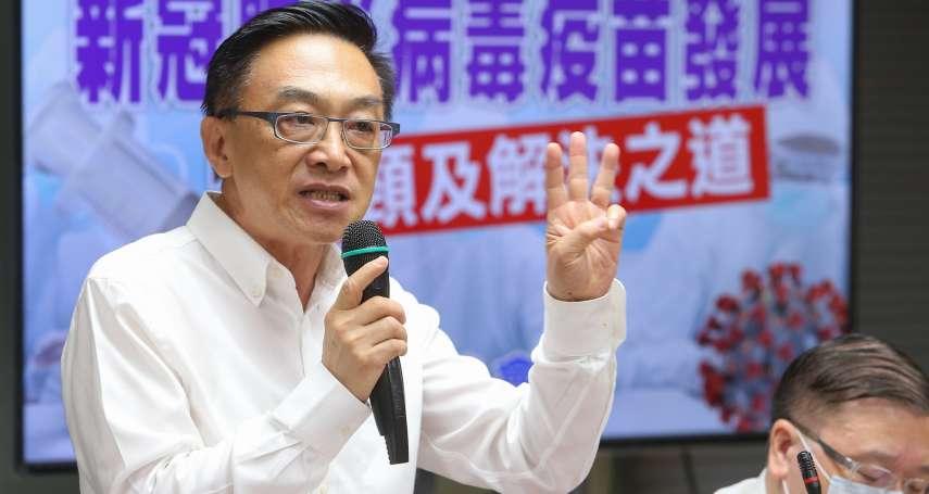 中國疫苗外交箭在弦上 他示警:台灣疫苗政策不清,勿以政治角度做決策