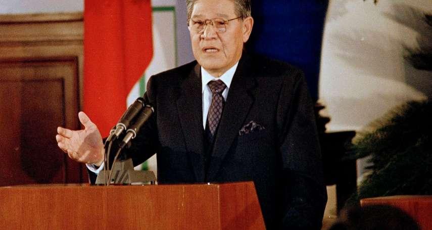 觀點投書:李登輝至少沒讓台灣走向極權體制