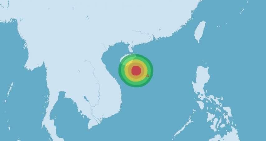 打破7月無颱風紀錄?南海熱低壓最快今增強成颱,恐影響台灣