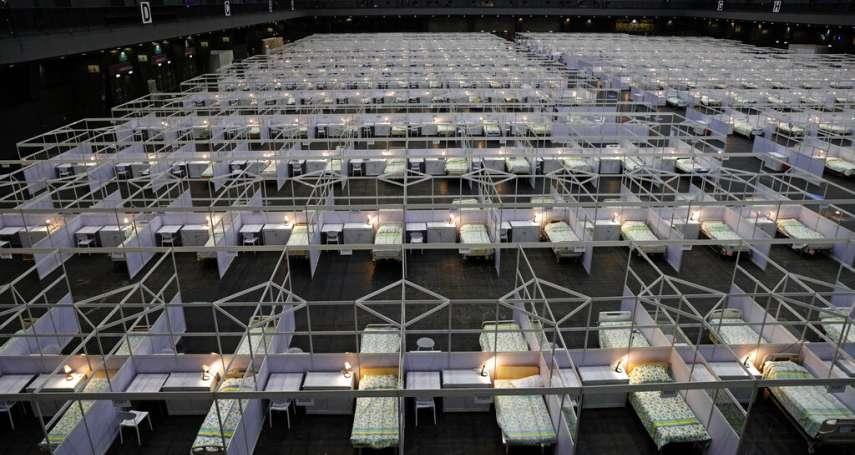 香港疫情嚴峻,港版「方艙醫院」啟用!北京還將大撒幣,供750萬港人免費篩檢?