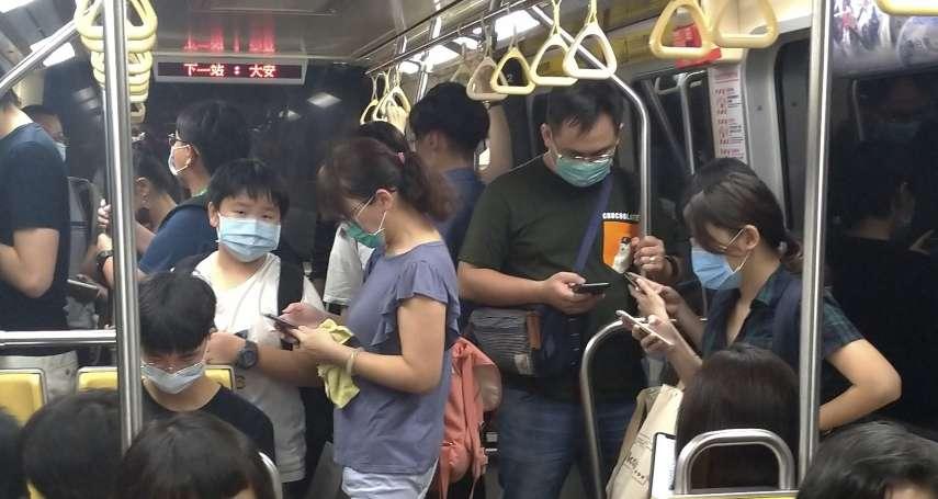 疫情再拉警報!北市大眾運輸、公共場所須戴口罩,即起勸導一週