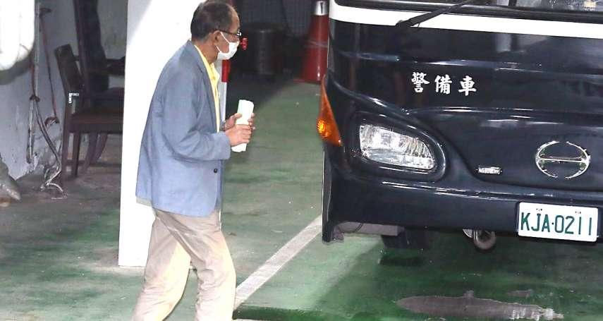 韋安觀點:政治獻金變賄款,陳超明「掃到颱風尾」?