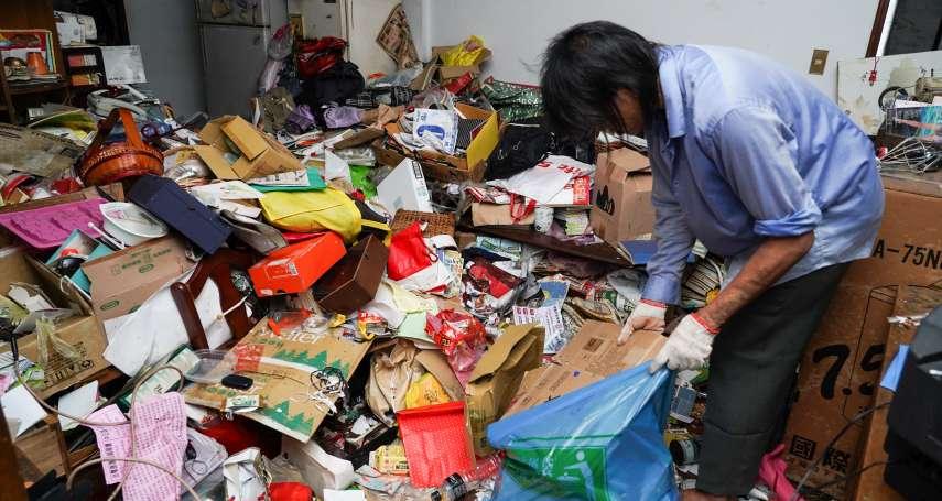 睡在垃圾山蚊蠅紛飛、傷口發臭才送醫…街友變身清潔隊,看遍台北獨居老人悲歌