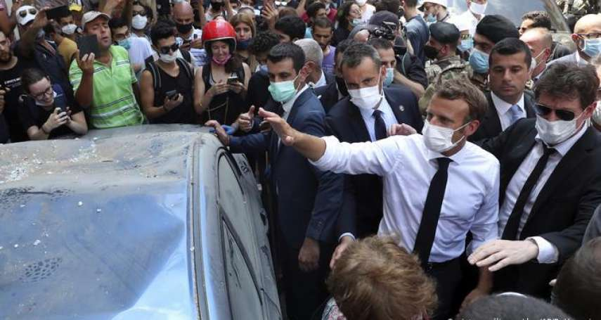 貝魯特大爆炸:黎巴嫩逮捕16名港口職員,悲憤災民向馬克宏哭訴慘況