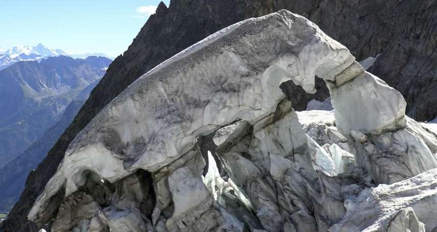 體積相當於米蘭大教堂!義大利白朗峰冰川恐崩落,居民卻無感拒撤離