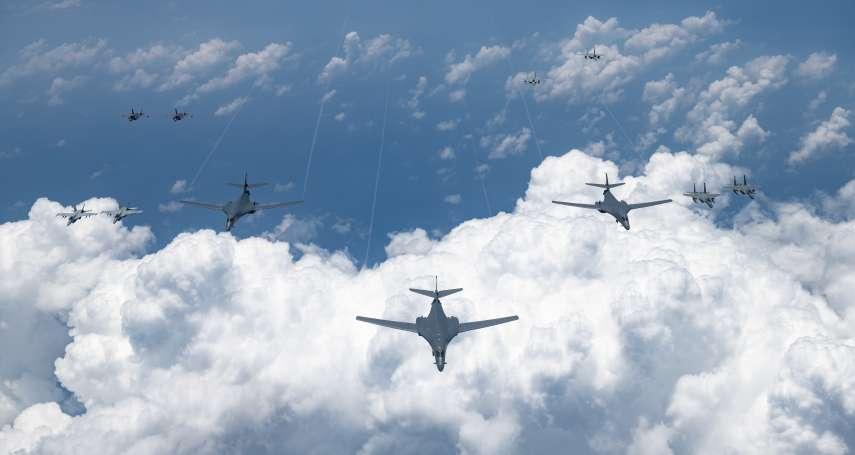 回應中國挑釁,美軍同時出動6架戰略轟炸機巡弋東海!美軍司令:我們有能力保持印太區域自由開放