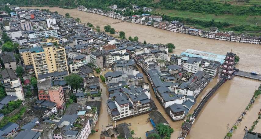 二十年來最大洪水淹沒重慶主城區!位處三峽大壩上游,難道要為下游安全做出犧牲?