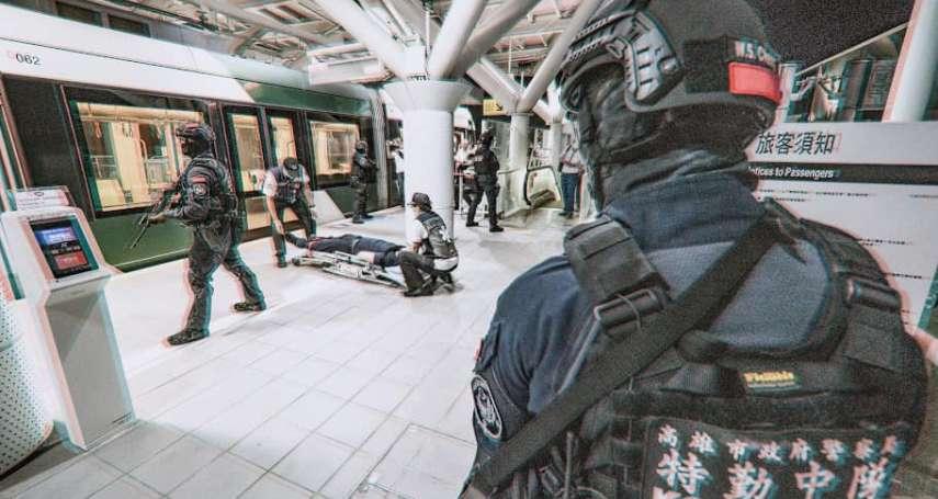 不讓特警執勤冒爆裂物、瓦斯桶風險 高市特採購防焰、阻燃勤務服