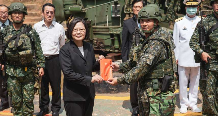 劉依俐觀點:蔡蘇政府應改組國安人事,加速提升海空軍重要性