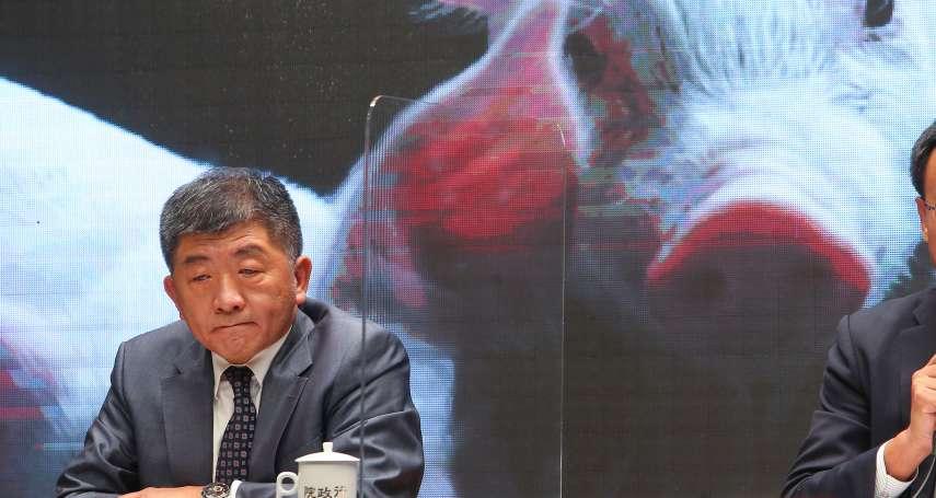 瘦肉精標準「民進黨比國際鬆1.5倍」 他批陳時中:要騙到什麼時候?