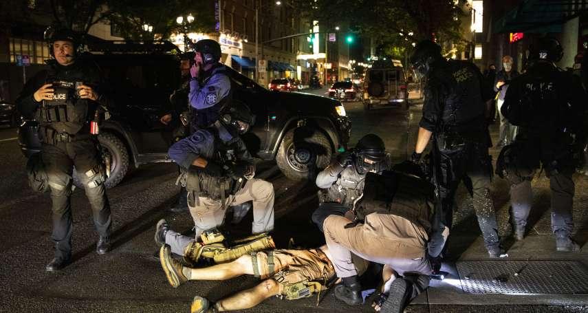 川普極右派支持者與反種族主義群眾爆衝突 美國波特蘭示威槍擊釀1死