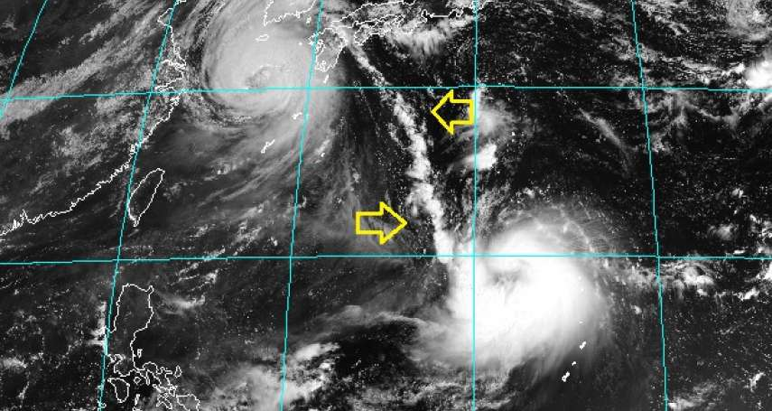 2颱罕見「牽手」畫面曝光!專家預測梅莎、海神將接連重擊這區