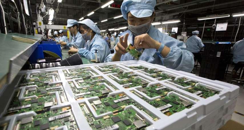 蔡宏政專欄:當中國脫離美國的雁行