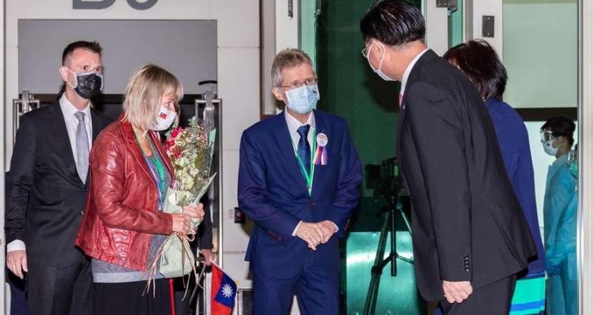 捷克訪台議長返國,遭親中總統澤曼痛批「幼稚挑釁」!韋德齊駁斥指控:我從未說過台灣是個獨立國家