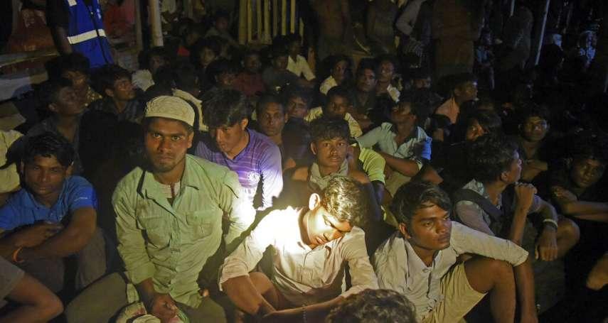 297人在海上漂流半年!泰國、馬來西亞拒靠岸,蛇頭不讓下船 羅興亞難民今抵印尼接受治療