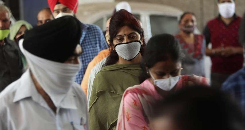印度「超車」巴西成確診第二大國、日增逾9萬病例 仍要開放大眾運輸