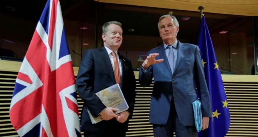 英國脫歐只剩三個月,仍有四大難題未解!BBC:「硬脫歐」恐使雙方經濟雪上加霜