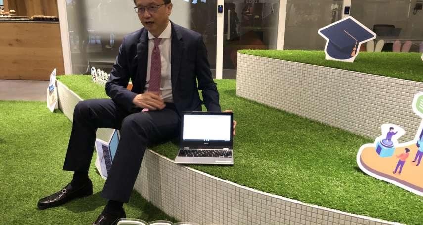 宏碁攜手聯發科 Chromebook明年出貨拚增4成