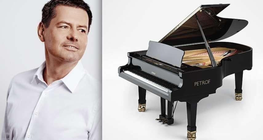 「我想提醒同胞們,捷克是自由的國家!」鋼琴商因議長訪台丟700萬訂單,捷克富豪柯瑪瑞克全買捐學校