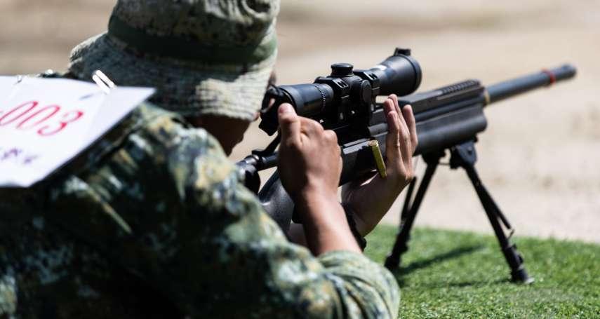 狂奔後穩住,狙擊600公尺外目標 國軍年度競賽催出憲兵、陸戰隊極限