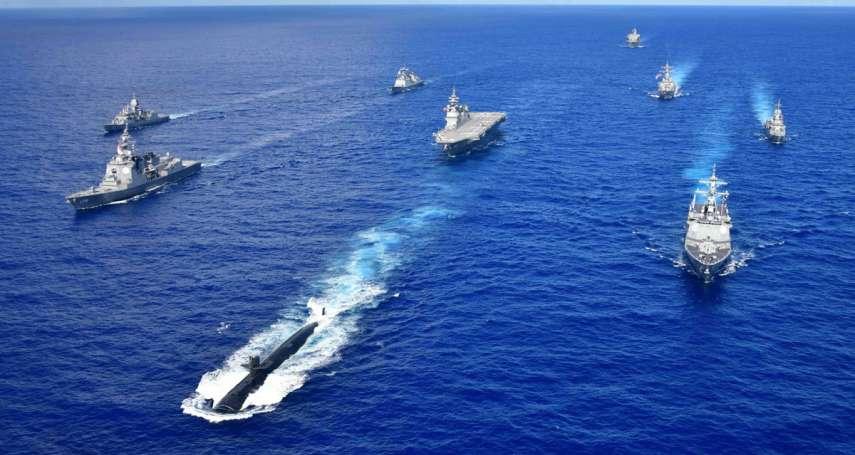 李忠謙專欄》中國「非和平崛起」的當然結果:第一島鏈「防衛原則」的全面鬆動
