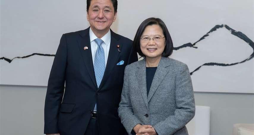 助台抗中!自民黨議員倡「日本版《台灣關係法》」、建立外交國防「2+2」對話