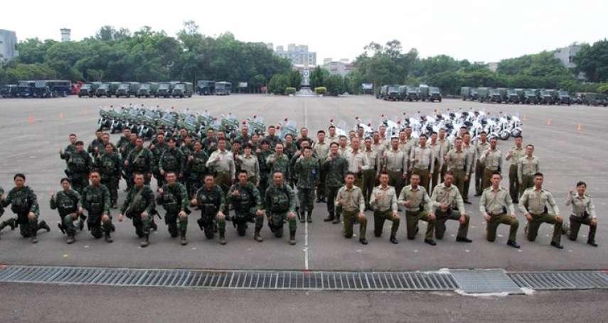 將首度以戰鬥模樣現身國慶大會 憲兵快反連全副武裝畫面曝光