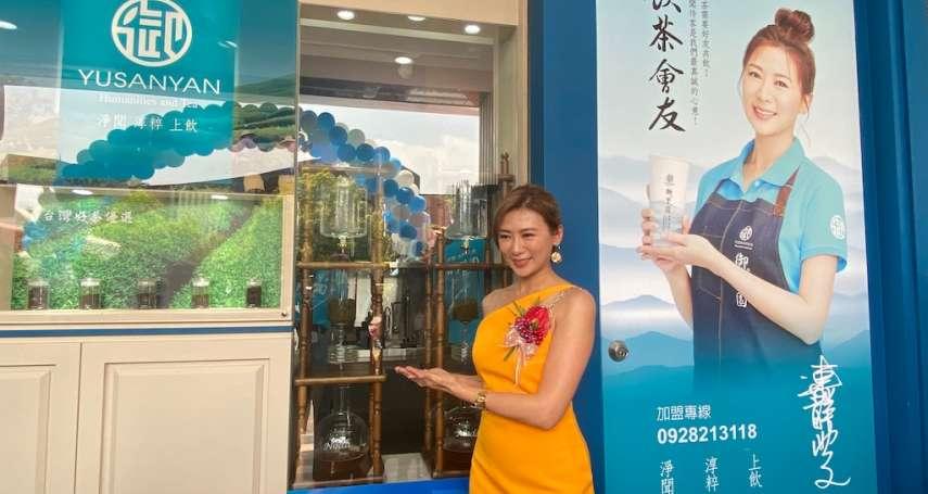中市飲料王國競爭激烈 台劇女王連靜雯開新店加入市場