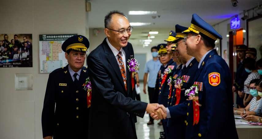 警政署調整人事 新北警局卸、新任分局長、大隊長聯合布達交接