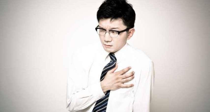 平均26分鐘,就有1人死於心臟病!國健署長:台灣人5個常見習慣,是罹患心臟病最大主因