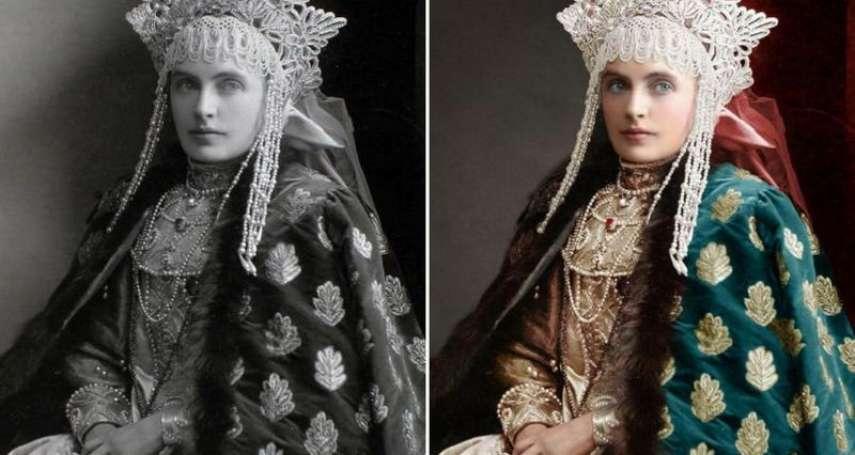 她讓毛澤東、希姆萊、末代沙皇尼古拉都有了顏色!俄國藝術家謝日尼娜再現歷史「真實瞬間」