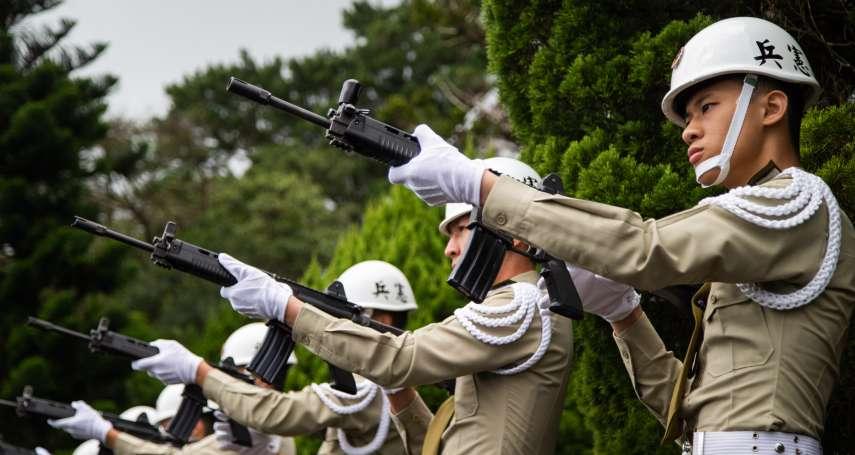憲兵人力捉襟見肘 員額腰斬還打散顧全台